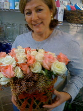 wedding florist newport beach ca, center pieces, bouquets