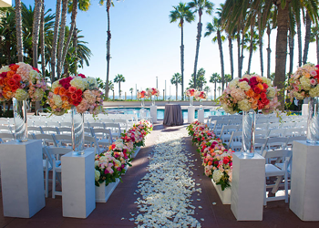Hilton Waterfront Resort Huntington Beach Wedding Venue