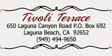 Tivoli Terrace Laguna Beach
